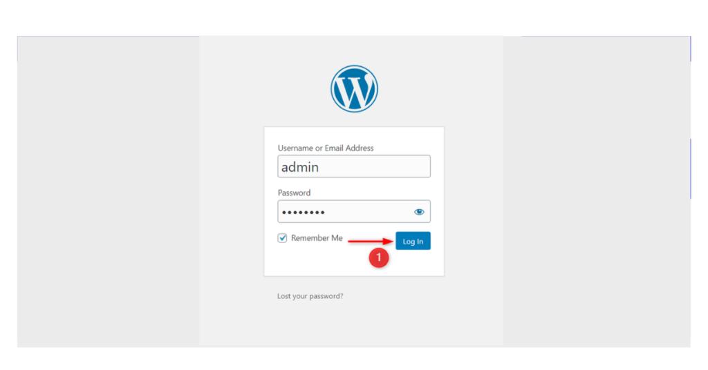 架設Wordpress - 後臺