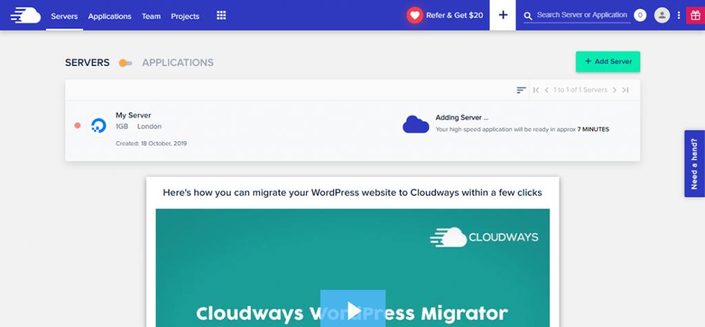 架設Wordpress - Cloudways 主機創建