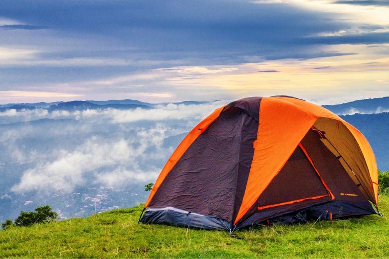 新手露营 帐篷