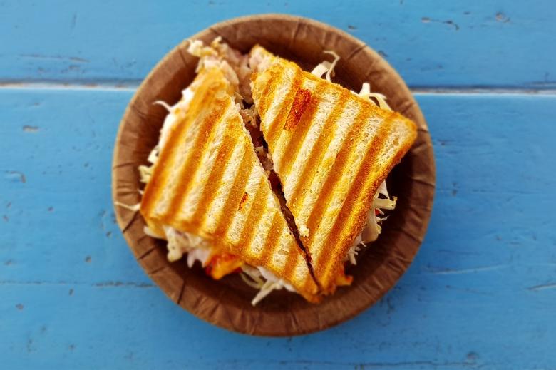 露营食物推荐 懒人料理早餐 三明治