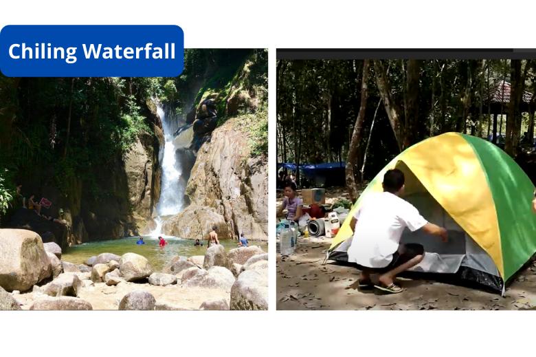 露营地 chiling waterfall