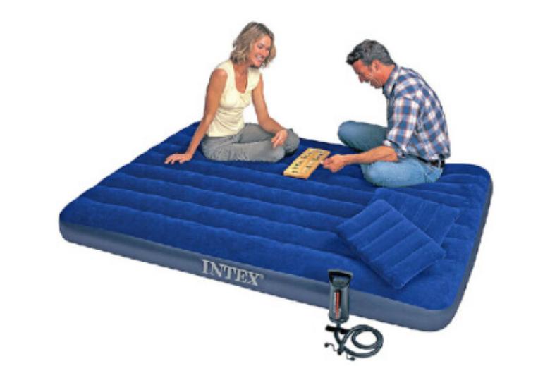手动充气睡垫