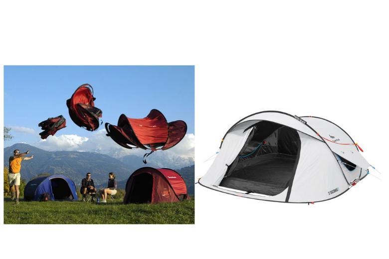 一键安装式帐篷 decathlon